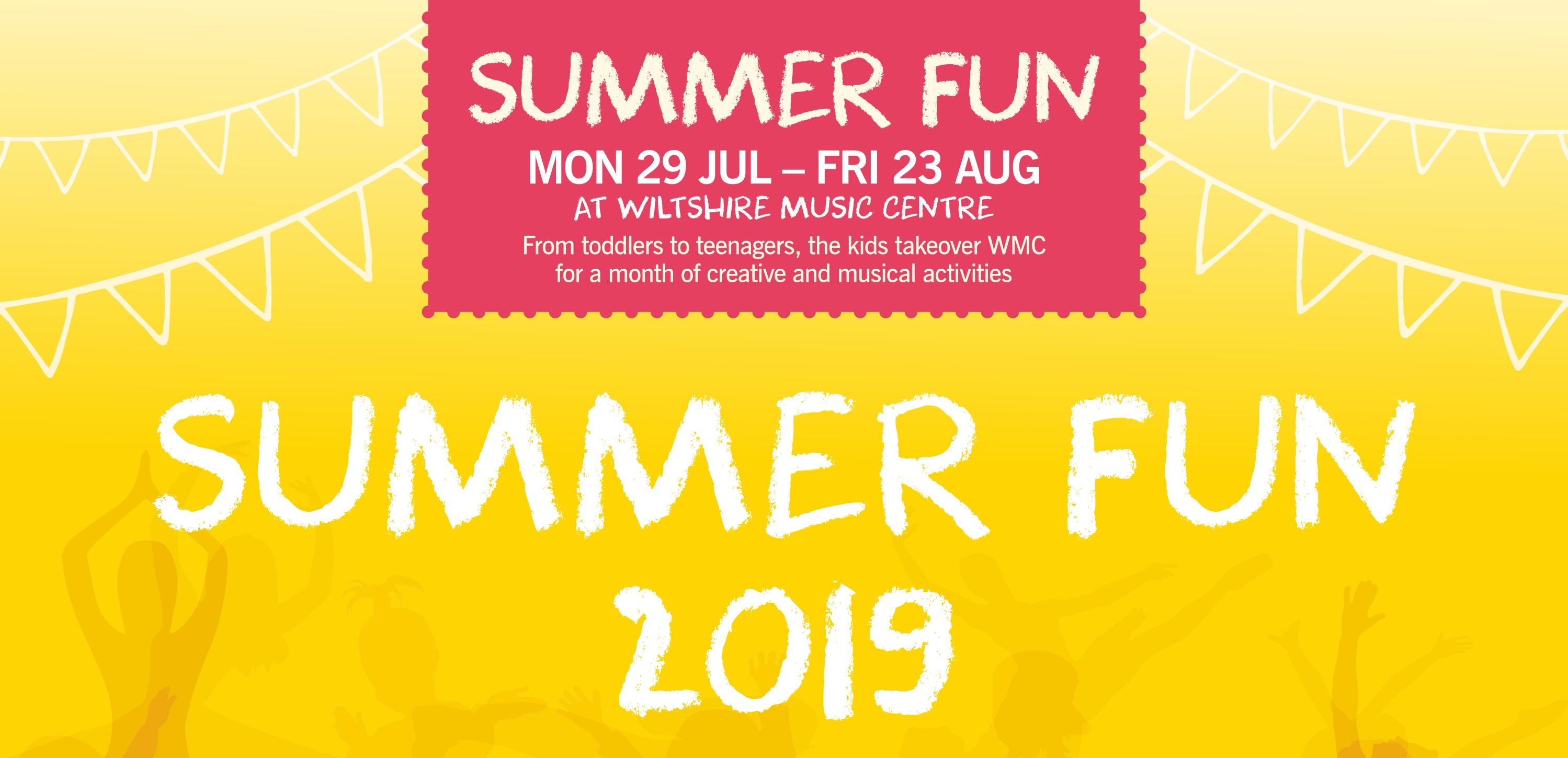 Summer Fun 2019 Banner