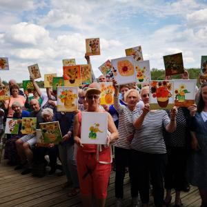 Langford Lakes Sunflowers