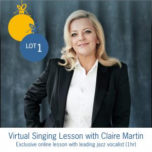 Lot 1 - Virtual Singing Lesson with Claire Martin