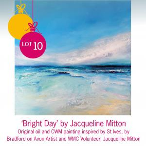 Lot 10: 'Bright Day' by Jacqueline Mitton, Bradford on Avon artist