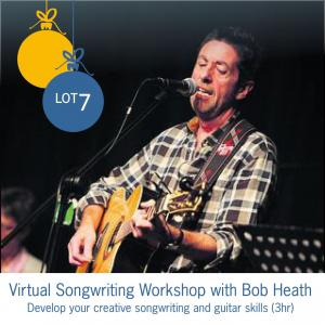 Lot 7: Virtual Songwriting Workshop with Bob Heath