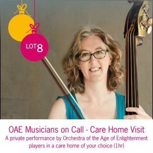 Lot 8: OAE Musicians on Call - Care Home Visit