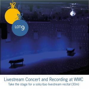 Lot 9: Livestream Concert and Recording at WMC