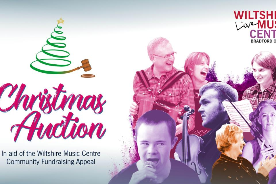 Christmas Auction Web Banner