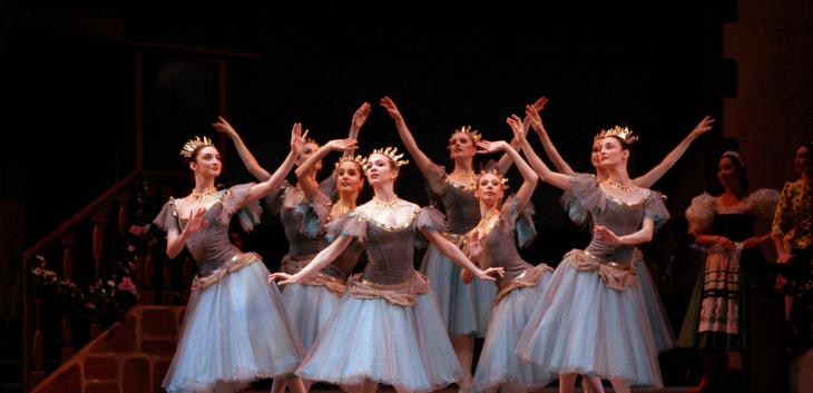 The Royal Ballet Coppelia banner image